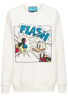 Disney X Gucci Cotton Jersey Sweatshirt