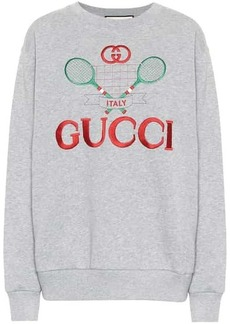 Gucci Embroidered cotton sweater
