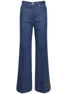 Gucci Flared Cotton Denim Jeans