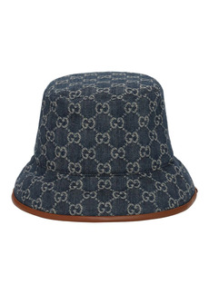 Gucci Gg Jacquard Canvas Bucket Hat