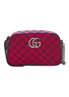 Gucci Gg Marmont Matelassé Canvas Camera Bag