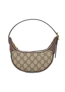 Gucci Gg Monogram Canvas Ophidia Shoulder Bag