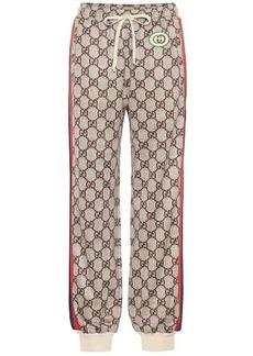 Gucci GG Supreme sweatpants