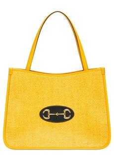 Gucci 1955 Horsebit Textured Tote Bag