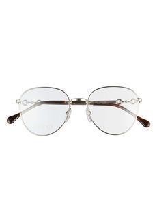 Gucci 51mm Round Optical Glasses