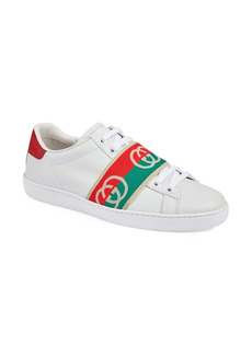 Gucci Ace Logo Band Sneaker (Women)