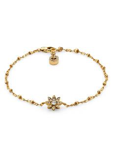 Gucci Flora Diamond & 18K Gold Bracelet