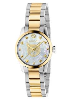 Gucci G-Timeless Feline Bracelet Watch, 27mm