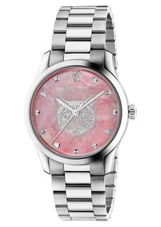 Gucci G-Timeless Feline Bracelet Watch, 38mm