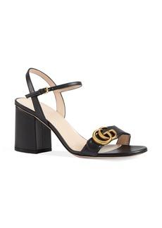 Gucci GG Quarter Strap Sandal (Women)