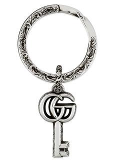 Gucci GG Silver Key Chain