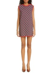 Gucci Horsebit Print Stretch Cady Shift Tunic Dress
