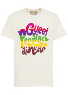 'gucci Prodige D'amour' Cotton T-shirt