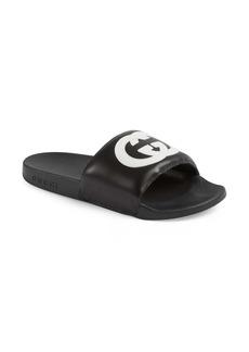 Gucci Pursuit Logo Slide Sandal (Women)
