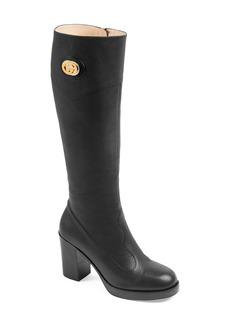 Gucci Rosie Knee High Boot (Women)