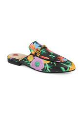 Gucci x Ken Scott Princetown Floral Print Loafer Mule (Women)