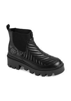 Gucci XXMM Frances Matelassé Chelsea Boot (Women)