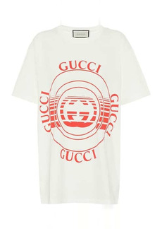 Gucci Logo cotton-jersey T-shirt