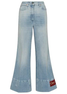 Gucci Mid-rise flared jeans
