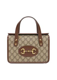 Mini Gucci 1955 Horsebit Top Handle Bag
