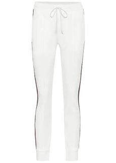 Gucci Piqué-jersey sweatpants
