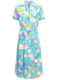 Gucci Printed Cotton & Linen Dress