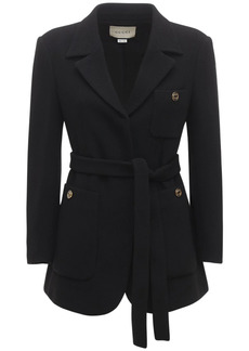 Gucci Wool Sablé Jacket
