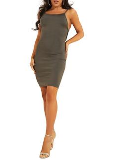 GUESS Jen Back Cutout Body-Con Minidress