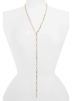 Halogen® Adjustable Y-Necklace