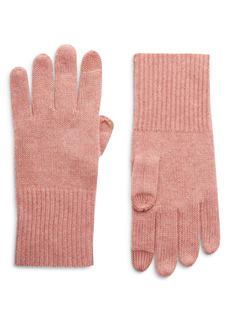 Halogen® Cashmere Tech Gloves