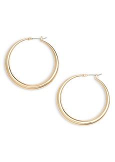 Halogen® Medium Graduated Tube Hoop Earrings