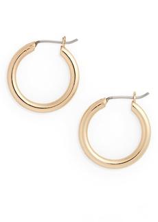 Halogen® Small Endless Hoop Earrings