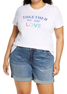 Halogen® We Are Love Graphic Tee (Plus Size)