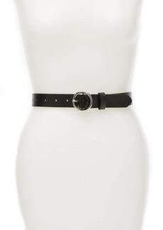 Halogen Leather Trouser Belt