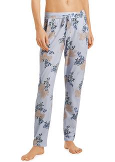 Hanro Floral Printed Lounge Knit Pants