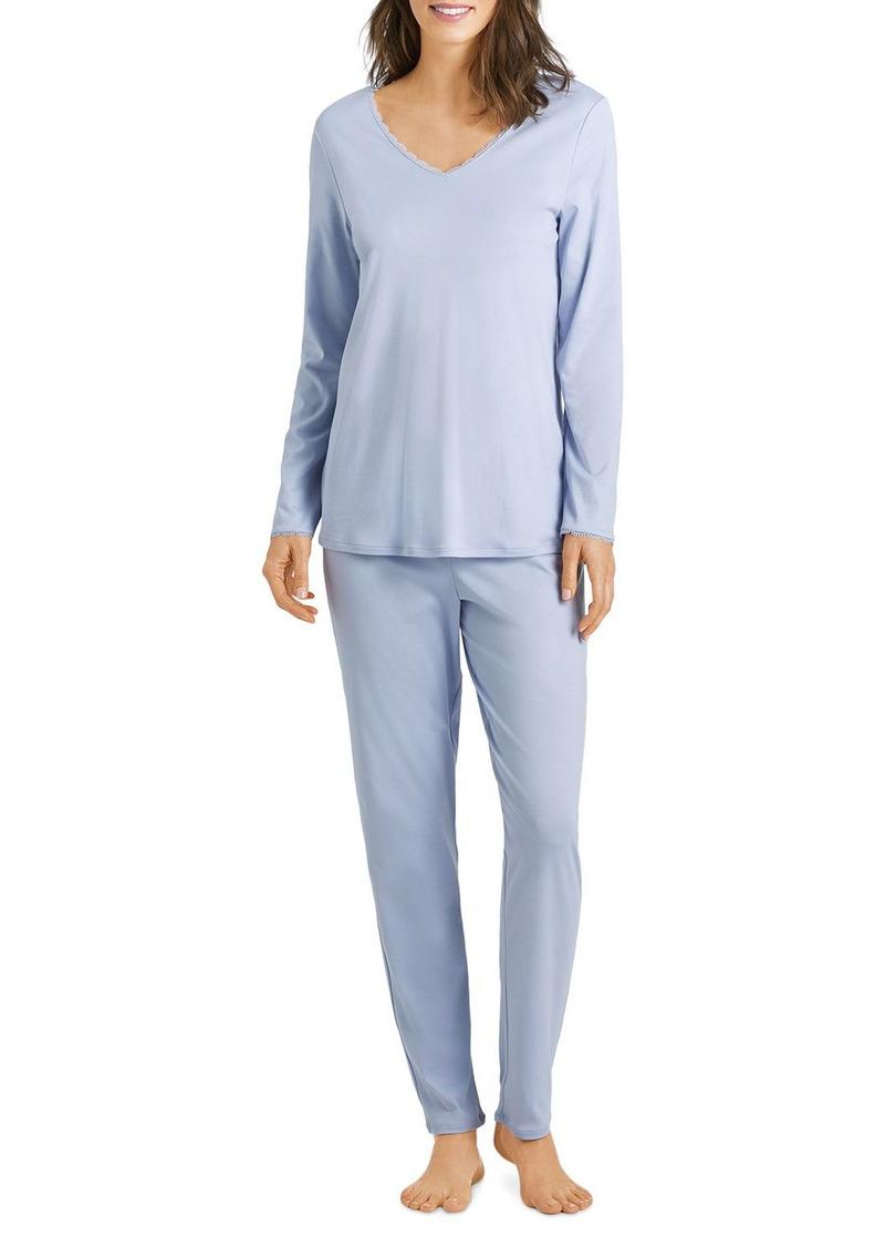 Hanro Cotton Pajama Set