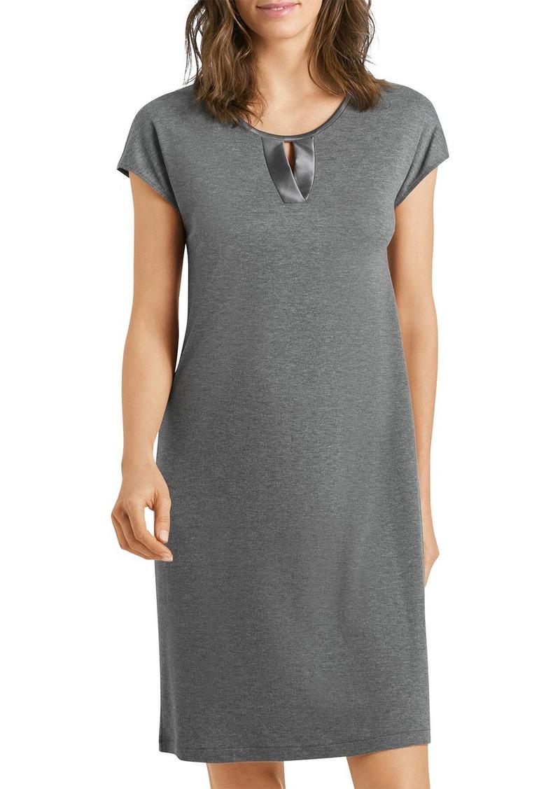 Hanro Fia Short Sleeve Nightgown