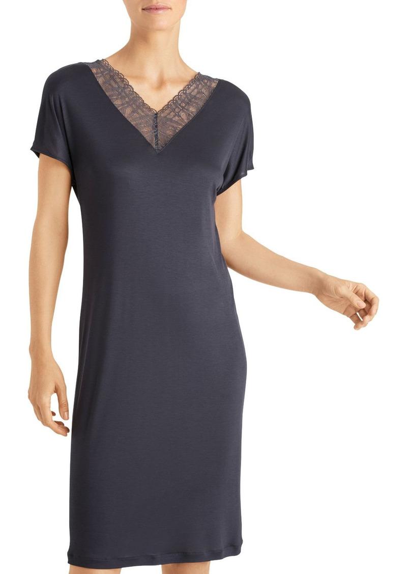Hanro Imani Short-Sleeve Gown