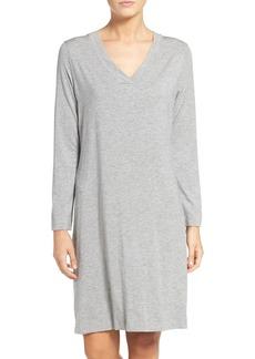 Hanro Long Sleeve Knit Nightgown