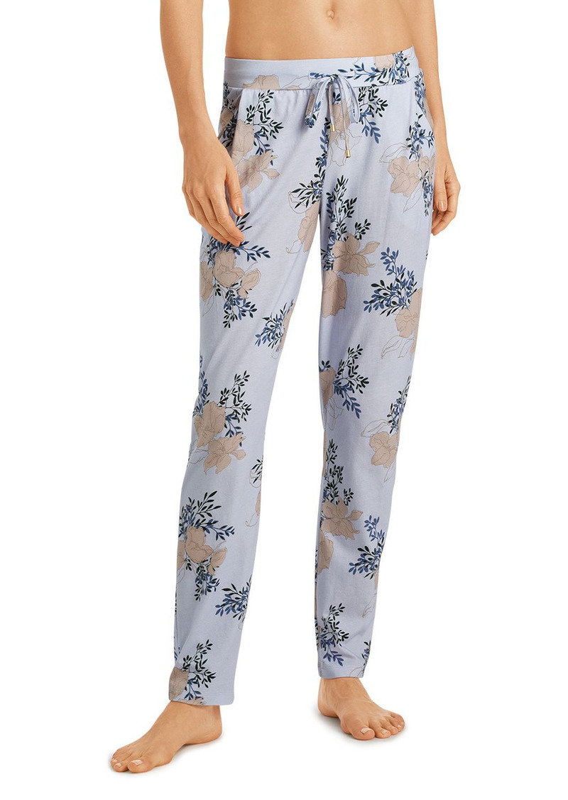 Hanro Sleep & Lounge Printed Knit Long Pants