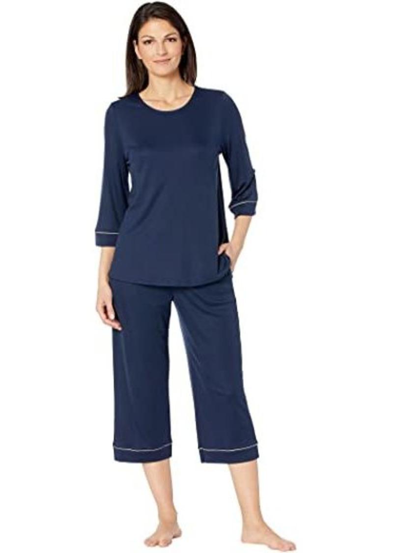 Hanro Natural Comfort 3/4 Sleeve Pajama