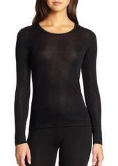 Hanro Silk Long-Sleeve Top