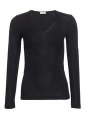 Hanro Woolen Silk Long-Sleeve Shirt