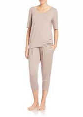 Hanro Yoga Short Sleeve Top