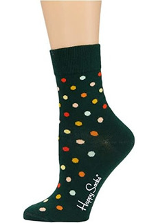 Happy Socks Dot Half Crew Sock