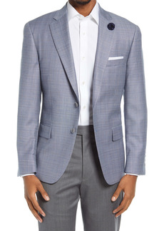 Hart Schaffner Marx Plaid Classic Fit Wool Sport Coat