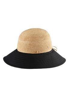 Women's Helen Kaminski Kalola Foldable Raffia Hat - Beige
