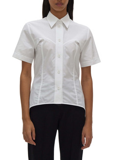 Helmut Lang Contour Cotton Button-Up Shirt