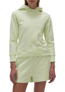 Helmut Lang Embroidered Fitted Hoodie