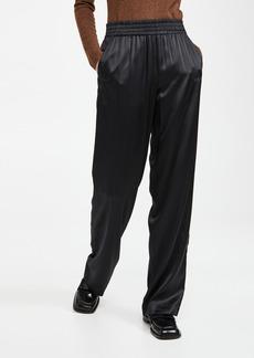 Helmut Lang Silk Satin Copy Pants